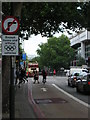 TQ2781 : Olympic Route Network: banned turn, Marylebone Road by Christopher Hilton