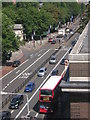 TQ2982 : Olympic Route Network: Games Lanes, Euston Road NW1 by Christopher Hilton