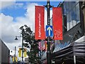 NZ2464 : Olympic branding on Northumberland Street by Graham Robson