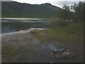 NN5615 : Evidence of 'campers', Loch Lubnaig by Karl and Ali