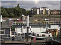 TQ2575 : Moorings at Riverside Quarter by Derek Harper