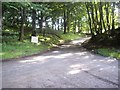 NJ4715 : Minor road junction at Turnpike Knowe (August 2012) by Stanley Howe