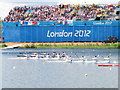 SU9377 : Women's K4, Olympics sprint canoeing, Eton Dorney by David Hawgood