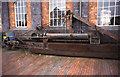 SJ4077 : National Waterways Museum - hydraulic jigger by Chris Allen