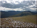 NN5080 : The southern flanks of Geal Charn by Karl and Ali