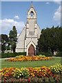 TQ1749 : Anglican Chapel, Dorking Cemetery by Colin Smith