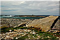 R0597 : Doolin - R479 - Harbour - Rocky Coastline & Small Nearby Offshore Island by Joseph Mischyshyn