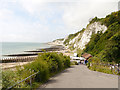 TV6097 : Beachy Head from Holywell Retreat by David Dixon