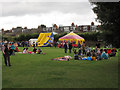 TQ3978 : Family area at the community festival by Stephen Craven