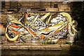 TQ2083 : Acton graffiti by Richard Croft