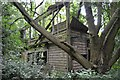TL5845 : Bartlow Station Signal Box by Ashley Dace