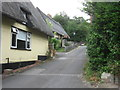 TL7835 : Cottages at the top of Castle Lane, Castle Hedingham, Essex by Derek Voller