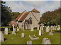 TV5597 : St Simon and St Jude, East Dean by David Dixon