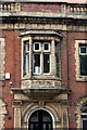 SD7109 : Oriel Window, Turkish Baths  by Alan Murray-Rust