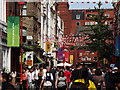 TQ2980 : Gerrard Street, Chinatown by Colin Smith