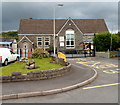 SN4321 : Abergwili school by John Grayson