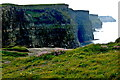 R0492 : Cliffs of Moher - SW Portion of Cliffs by Joseph Mischyshyn