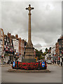 SO8932 : Tewkesbury War Memorial by David Dixon