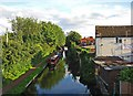 SO8171 : Staffs &amp; Worcs Canal, looking south, Stourport-on-Severn by P L Chadwick