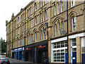 SE2421 : Dewsbury - north side of Nelson Street by Dave Bevis