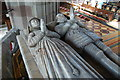 SO7745 : John Knotsford &amp; Wife Memorial, Malvern Priory by Julian P Guffogg