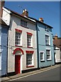 TM2748 : Brightly coloured houses in Quay Street : Week 33