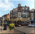 TQ3476 : The Greyhound Public House, Peckham High Street, London by PAUL FARMER