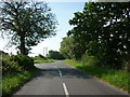 SK8958 : Norton Road towards Stapleford by Ian S