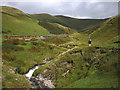 SD6493 : Crossing Crosdale Beck by Karl and Ali