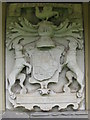 NT4175 : Armorial panel of the Seton Family by M J Richardson