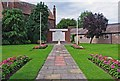 SO8171 : War Memorials, Stourport War Memorial Garden, Stourport-on-Severn by P L Chadwick