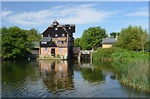 TL2871 : Houghton Mill by Ashley Dace