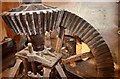 TL2871 : Houghton Mill - Pit Wheel by Ashley Dace