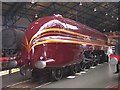 SE5951 : Duchess of Hamilton in the National Railway Museum by Raymond Knapman