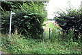 SP9731 : Gate on the path to Cuckoopit Spinney by Philip Jeffrey
