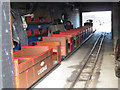 TQ8209 : Hastings Miniature Railway - depot by Stephen Craven