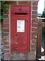 SU8011 : Postbox PO18 122, Stoughton by Robin Webster