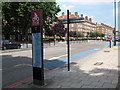 TQ3177 : Cycle Superhighway 7 at Kennington by Stephen Craven