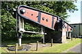 SS6592 : Swansea Museum - beam from Cornish beam engine by Chris Allen