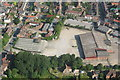 TF3286 : Louth, no.1 cattle market, aerial 2007 by Chris