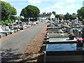 SO9497 : Bilston Cemetery View by Gordon Griffiths