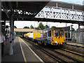 TQ3568 : Track maintenance vehicle at Elmers End by Stephen Craven