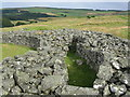 NT7760 : Edin's Hall broch by M J Richardson
