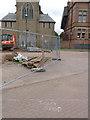 SK5738 : Tram STOP  by Alan Murray-Rust