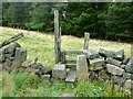 SE0025 : Stile on Hebden Royd FP 71 by Humphrey Bolton