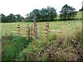 SE0025 : New gate at northern end of Hebden Royd FP 50 (eastern branch) by Humphrey Bolton