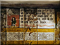 SJ8358 : Parlour Wall Paintings, Little Moreton Hall by David Dixon
