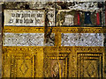 SJ8358 : The Parlour Wall Paintings, Little Moreton Hall by David Dixon