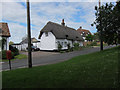 TL2256 : Thatched house, Abbotsley by Hugh Venables