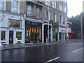TQ2677 : Shops on Fulham Road, West Brompton by David Howard